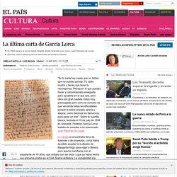 La última carta de García Lorca
