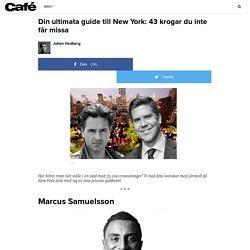 Din ultimata guide till New York: 43 krogar du inte får missa