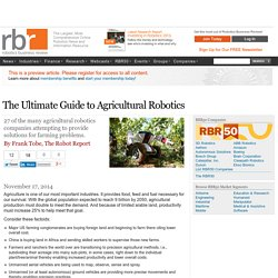 LE guide Agribots - Robotics Business Review