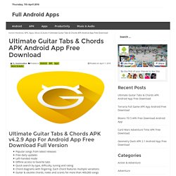 Ultimate Guitar Tabs & Chords APK Android App Free Download - Full Android Apps