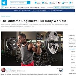 ultimate beginner workout
