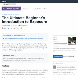 The Ultimate Beginner's Introduction to Exposure