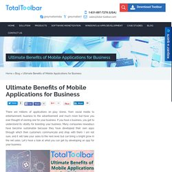 Ultimate Benefits of Mobile Applications for Business - total-toolbar