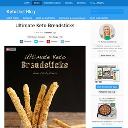 Ultimate Keto Breadsticks
