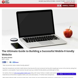 The Ultimate Guide to Building a Successful Mobile-Friendly Website