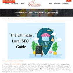 The Ultimate Local-SEO Hacks for Businesses