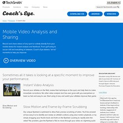 Coach's Eye | The Ultimate Coaching App for iPhone, iPad and Android