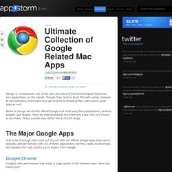Ultimate Collection of Google Related Mac Apps