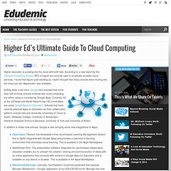 Higher Ed's Ultimate Guide To Cloud Computing
