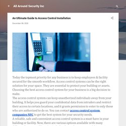 An Ultimate Guide to Access Control Installation