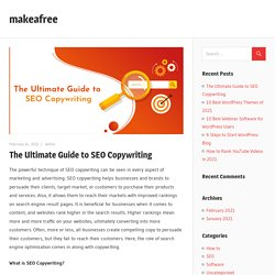 The Ultimate Guide to SEO Copywriting – makeafree