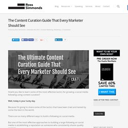 The Ultimate Content Curation Guide For Marketers