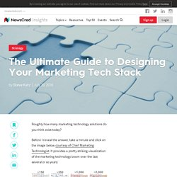 The Ultimate Guide to Designing Your Marketing Tech Stack