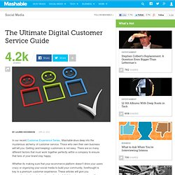 The Ultimate Digital Customer Service Guide