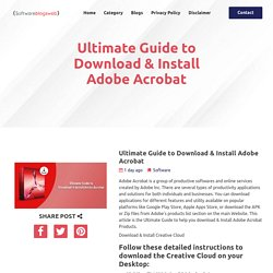 Ultimate Guide to Download & Install Adobe Acrobat
