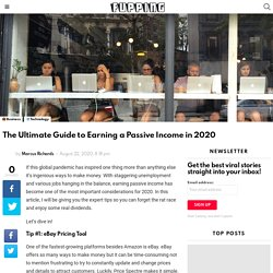 The Ultimate Guide to Earning a Passive Income in 2020