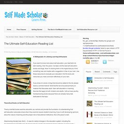 The Ultimate Self-Education Reading List