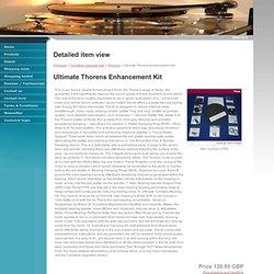 Ultimate Thorens Enhancement Kit - Detailed item view - srm-tech.co.uk SRM Design