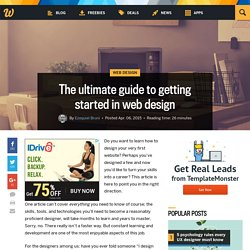The ultimate guide to getting started in web design