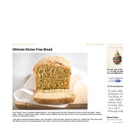 Ultimate Gluten Free Bread & Veggie Wedgie