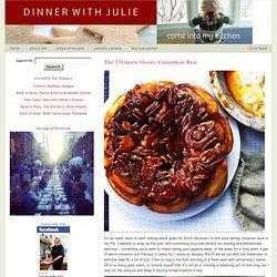 The Ultimate Gooey Cinnamon Bun - Dinner With Julie Dinner With Julie The Ult...