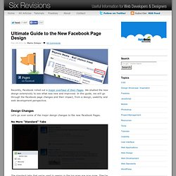 Ultimate Guide to the New Facebook Page Design