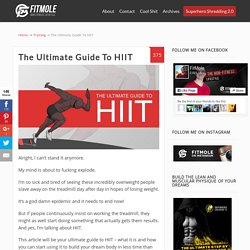 The Ultimate Guide To HIIT - FitMole