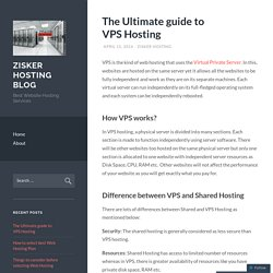 The Ultimate guide to VPS Hosting