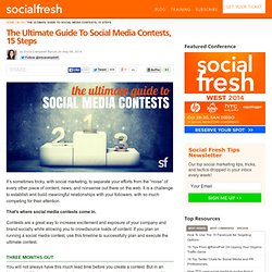 The Ultimate Guide To Social Media Contests, 15 Steps