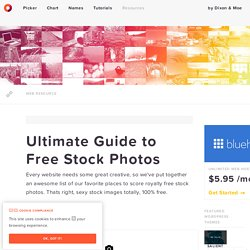 Ultimate Guide to Free Stock Photos — HTML Color Codes
