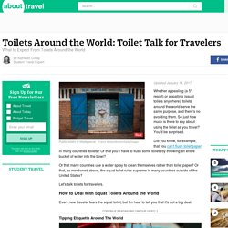 The Ultimate Guide to Toilets and Travel