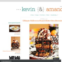 Ultimate Halloween Peanut Butter Oreo Brownie Bar