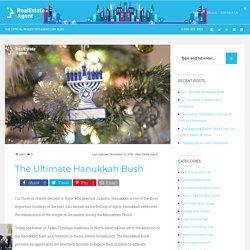 The Ultimate Hanukkah Bush - Real Estate Agent Blog