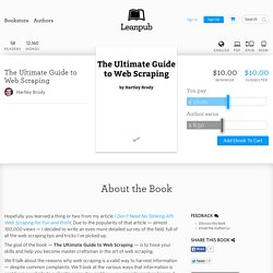 Ultimate Guide to Web… by Hartley Brody