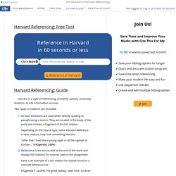 Ultimate Guide to Harvard Referencing - Cite This For Me