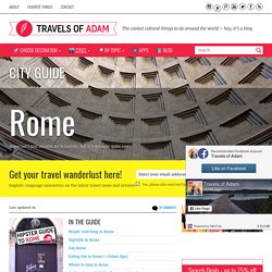 Ultimate Hipster Guide to Rome - Travel Tips