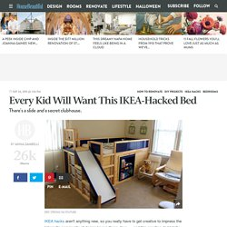 The Ultimate Ikea Kid's Bed Is Real - Dad Builds Awesome Kid's Bed