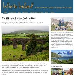 The Ultimate Ireland Packing List - Infinite Ireland