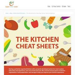 Kitchen Cheat Sheet: Kitchen Tips & Cooking Hacks