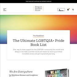 The Ultimate LGBTQIA+ Pride Book List