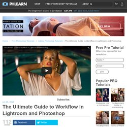The Ultimate Guide to Workflow in Lightroom and Photoshop