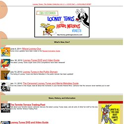 The Ultimate Looney Tunes and Merrie Melodies Website