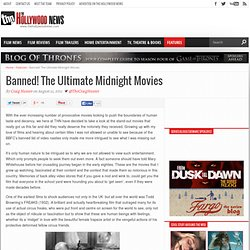Banned! The Ultimate Midnight Movies