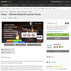 Vision – Ultimate Nonprofit Joomla Theme