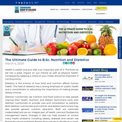 The Ultimate Guide to B.Sc. Nutrition and Dietetics - CGC Landran