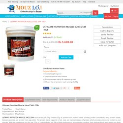 Ultimate Nutrition Muscle Juice 2544 Delhi India