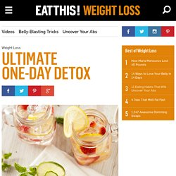 Our Best Detox Cleanse Diet for One-Day Results