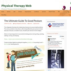 The Ultimate Guide To Good Posture - Physical Therapy Web
