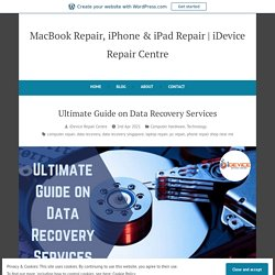 Ultimate Guide on Data Recovery Services