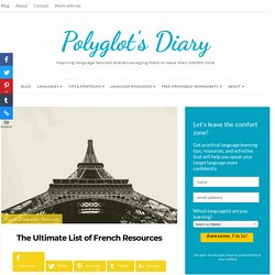 The Ultimate List of French Resources